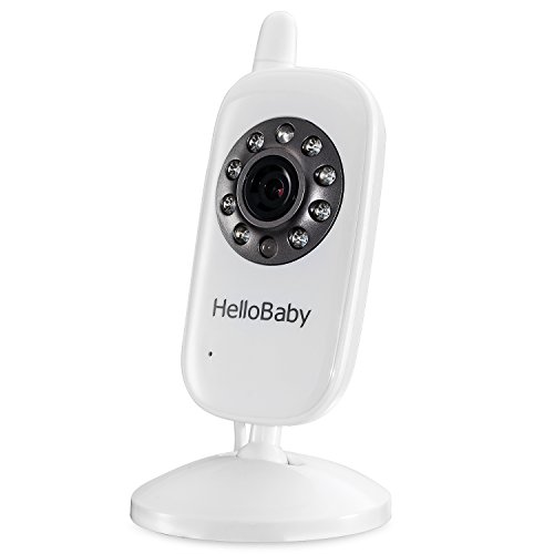 Hello Baby Additional Camera Child Unit Add-on Camera for HB24 Video Baby Monitor