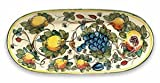 Hand Painted Toscana Bees Oval Platter From Italy