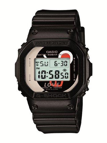 [カシオ]CASIO 腕時計 G-SHOCK ジーショック Love Power of Fashion コラボレーションモデル 【数量限定】 DW-5600LP-1JR メンズ DW-5600LP-1JR メンズ