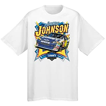 Jimmie Johnson End of Season Short Sleeve Tee Shirt by Majestic