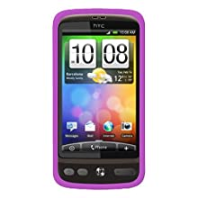 Amzer AMZ87965 Silicone Skin Jelly Case For HTC Desire (Purple)
