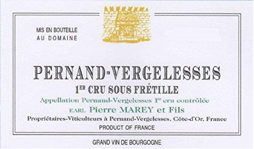 2011 Domaine Pierre Marey Et Fils: Pernand-Vergelesses Premier Cru Sous Fretille 750 Ml