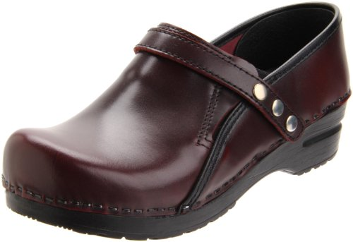 Sanita Women's Cori Clog,Bordeaux,41 EU (US Women's 10.5-11 M)
