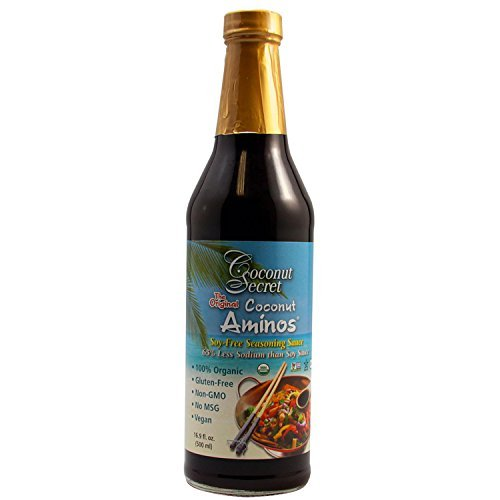 Coconut secret organic aminos soy free seasoning sauce 8 for Red boat fish sauce trader joe s