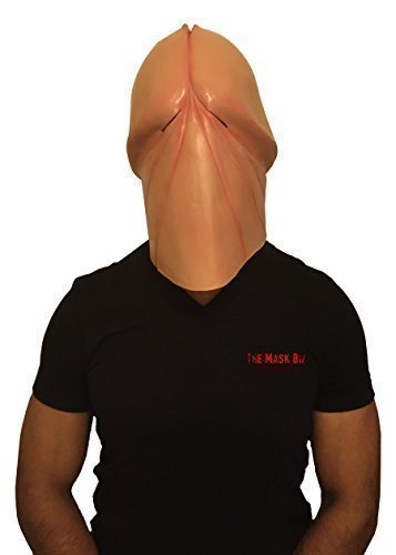 The-Mask-Biz-Penis-Mask-Dick-Head-Funny-Halloween-Mask