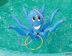 Inflatable Octopus Ring Toss
