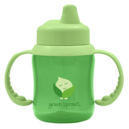 Green Sprouts Non-Spill Sippy Cup,6 Ounce