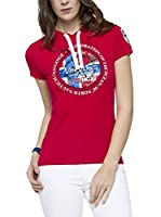Nebulus Camiseta Manga Corta Lillesand (Rojo)