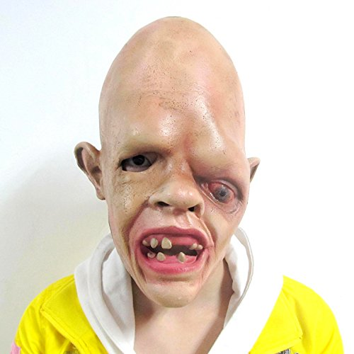 Vidatoy One-eyed Terrible Mask Funny Scary Costume latex horror sloth Mask