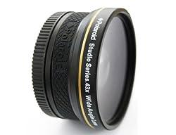 Polaroid Studio Series 0.43x 52mm HD Wide Angle Prime Lens