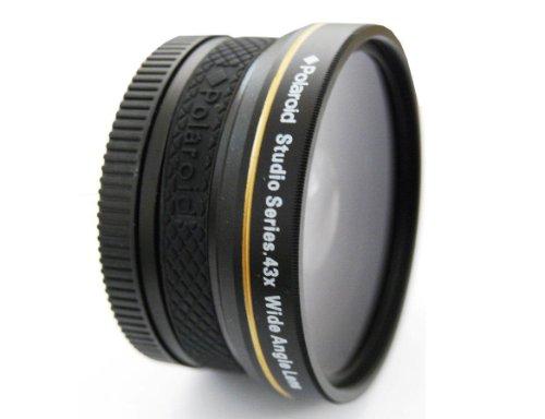 Polaroid . Studio Series .43X Hd Wide Angle Lens 58Mm
