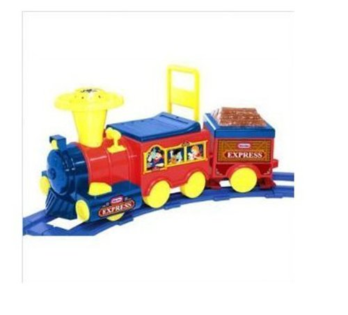 Ride On 6V Battery Operated Talking Train With Track