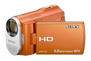 Sony Webbie MHS-CM1 HD Camcorder (Orange)