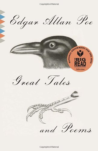 cover of the book 'Great Tales and Poems of Edgar Allan Poe'