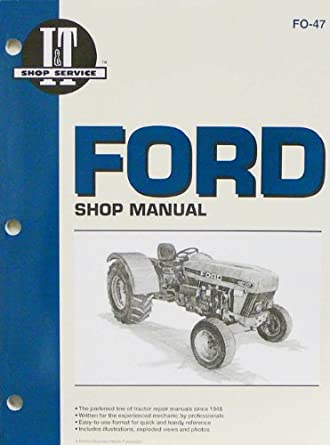 3930 Ford tractor service manual