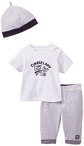 Timberland Baby - Jungen Unterwäsche-Set Gr. 18 Monate, Grau - Gris (Gris Clair Chiné)