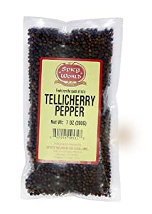 Spicy World Tellicherry Pepper 7-ounce Units Pack Of 3 from Spicy World