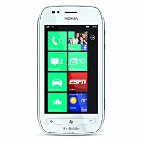 Nokia Lumia 710 4G Windows Phone, White (T-Mobile)