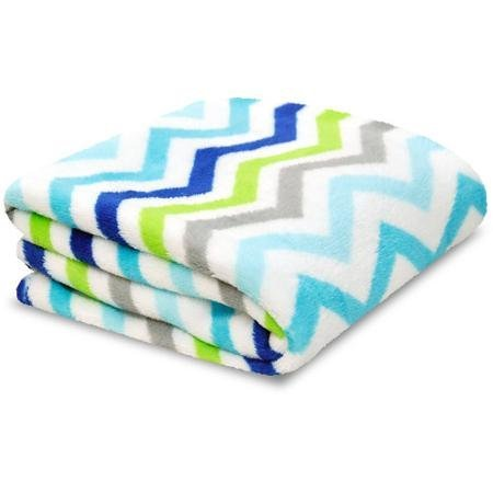 Soft Baby Zig Zag Blanket Multi-color - 1