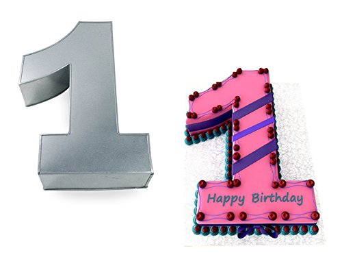 Small Number One 1 Wedding Birthday Anniversary Cake Baking Pan / Tin 10