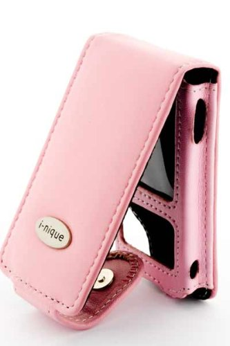 Sony Walkman NW-A800 NWA-Z815 NWZ-A816 NWZ-A818 Series Executive Soft Napa leather cover - pink