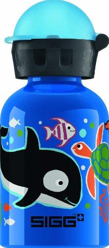 Sigg Seaworld Water Bottle, Blue, 0.3-Liter front-543344