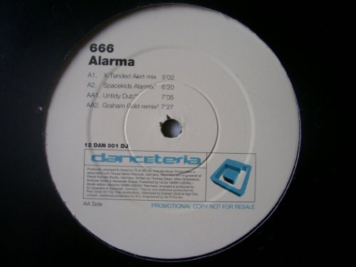 666 - Alarma (cd single) - Zortam Music