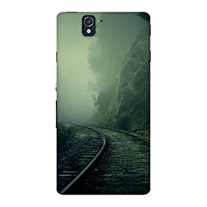 Stylish Fog Track Back Case Cover for Sony Xperia Z