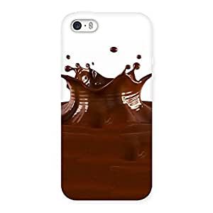 Ajay Enterprises Liquid chocalate Back Case Cover for iPhone 5 5S