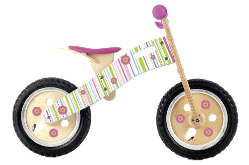 Candy Stripe Smart Balance Bike