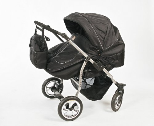 New Twins / Double Pram & Pushchair + 2 car seats - RRP £699.00
