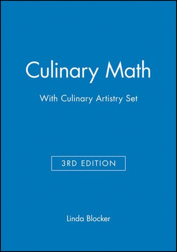Culinary Math 3e with Culinary Artistry Set