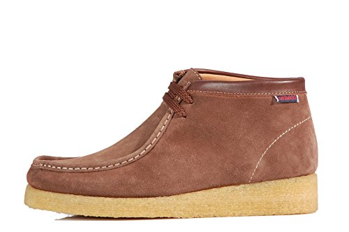 Sebago Koala Shoes Stivaletti Stringati B161216 Chestnut Shoes - Scarpe Marroni Pelle Scamosciata