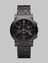 Burberry BU1771 Heritage Black Ceramic Chronograph Watch