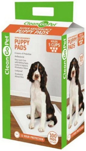 Clean Go Pet Polymer Puppy Pad, 100-Pack