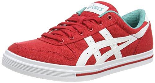 ASICS - Aaron, Sneakers Basse da unisex - adulto, colore rosso (ot red/white 2301), taglia 43.5