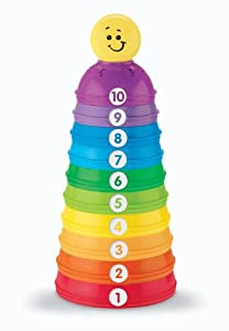 Fisher-Price Brilliant Basics Stack & Roll Cups by Fisher-Price