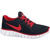 Nike Free Run Mens Training Running Sneaker Black Red Shoes