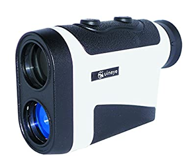 Laser Rangefinder - Range : 5-1600 Yards, +/- 0.33 Yard Accuracy, Golf Rangefinder with Height, Angle, Horizontal Distance Measurement Perfect for Hunting, Golf, Engineering Survey by Uineye