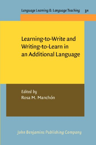 Learning to Write and Writing to Learn in an Additional Language Language Learning and Language Teaching