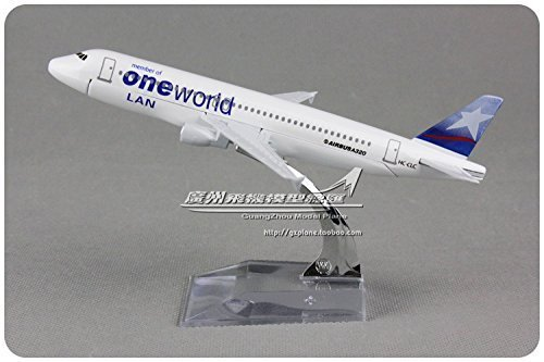 1400-16cm-air-bus-a320-lan-airlines-one-world-metal-airplane-model-plane-toy-plane-model-by-tang-dyn