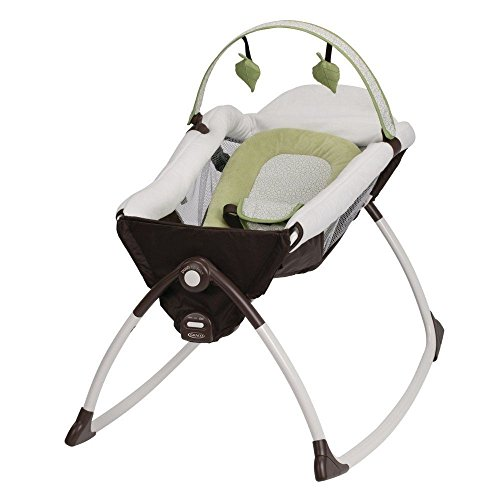 Graco Little Lounger Rocking Seat Plus Vibrating Lounger (Go Green)