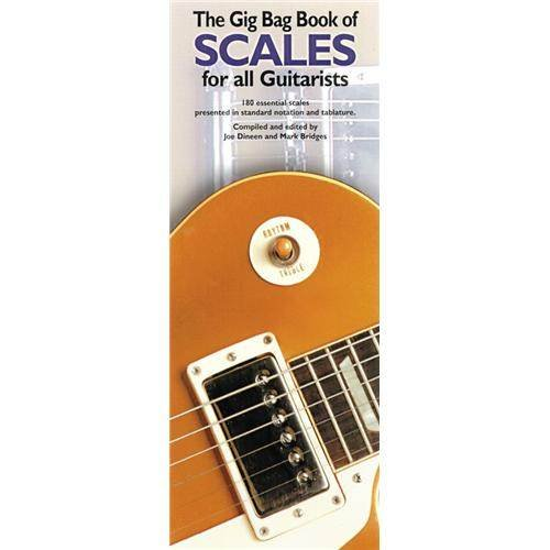 Gig Bag Book of Scales for All Guitarists