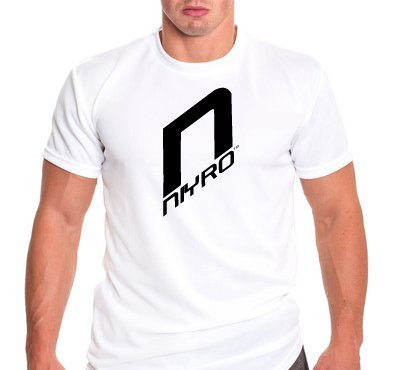 Niyro - T-shirt - Dry Fit Technology - Sweep Sweat & Moisture Away - Ultra Strong Performance (Size M White)