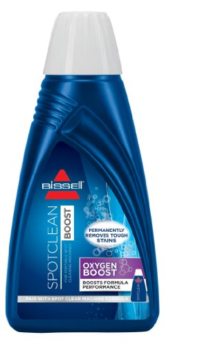 BISSELL OXYgen Boost Stain Remover, Portable Machine Formula, 0801A