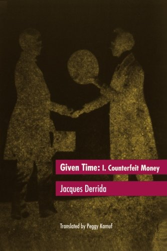Given Time: I.  Counterfeit Money: Counterfeit Money Vol 1