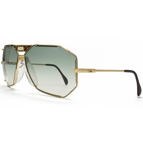 Cazal Legends 905 Aviator Sunglasses in Gold Green 905 097 65