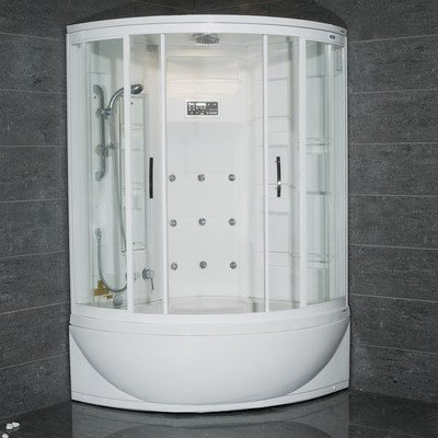 Great Deal! Steam Shower with Whirlpool Bathtub