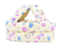 Baby & Infant Toddler No Bumps Safety Helmet Head Cushion - Yellow Candy