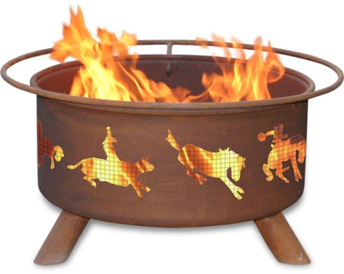 Patina Products F104, 30 Inch Western Fire Pit